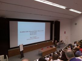 One of Warwick University's lecture theatres