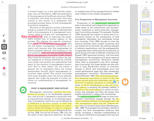 Annotating documents in Evernote
