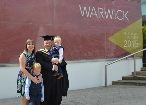 My family three years on